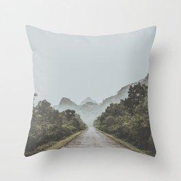Cat Ba Island Throw Pillow