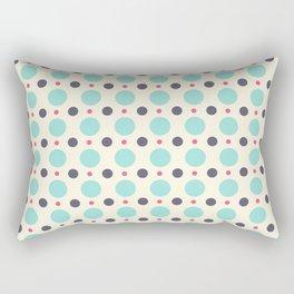 Dots (planets) Rectangular Pillow