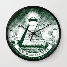New World Order Wall Clock