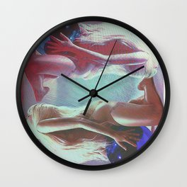 Love Me, Love Me, Please Retweet Wall Clock