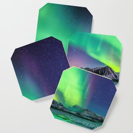 Northern Lights in Iceland Coaster
