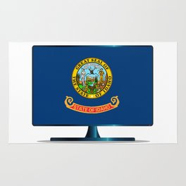 Idaho Flag TV Rug