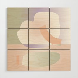 Reverse 01 - Pastel Edition Wood Wall Art