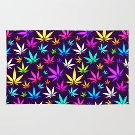 Colorful OG Herb Pattern Rug
