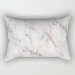 Antico Rosa Marble Rectangular Pillow