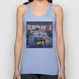 "Hippo Campus - ""Landmark"" Lyrics Unisex Tank Top"