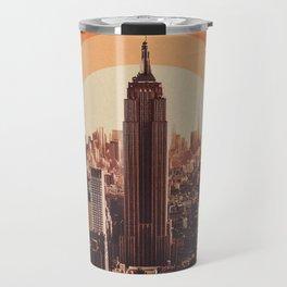 New York's Famous Sunset - Retro City Travel Mug
