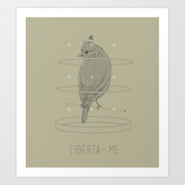 Liberta-me Art Print