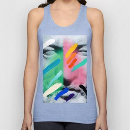 Composition on Panel 6 Unisex Tank Top