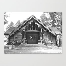 Chapel of the Sacred Heart - Grand Teton National Park - Wyoming Canvas Print