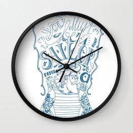Hipster Sailor Wall Clock