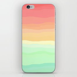 Ice Cream Pastel Rainbow iPhone Skin