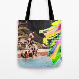 HER KIND Anne Sexton quote #2 Tote Bag
