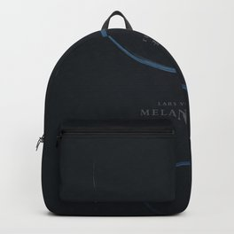 Melancholia, Lars Von Trier, minimalist movie poster Backpack