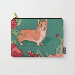 Windsor Rose Garden Carry-All Pouch