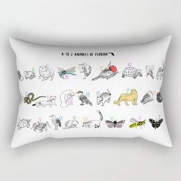 A to Z Animals of Florida Rectangular Pillow