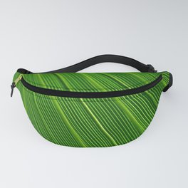 Green leaf in the tropics Fanny Pack