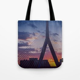 Zakim Bridge - Boston  Tote Bag