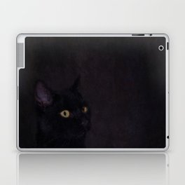 Black Cat - Prince Of Darkness Laptop & iPad Skin
