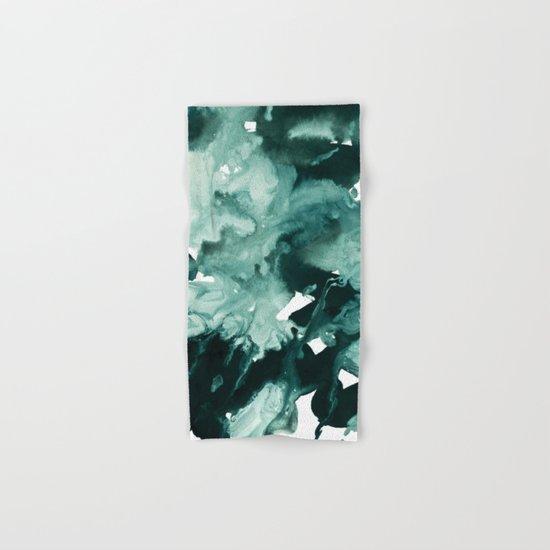 inkblot marble 4 Hand & Bath Towel