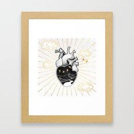 Desert Heart Inktober :: More Magick Framed Art Print