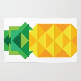 geometric pineapple Rug
