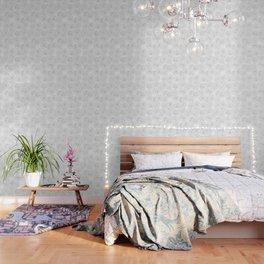 Peony Flower Pattern Wallpaper