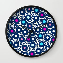 Elsa Collection Floral 3 Wall Clock