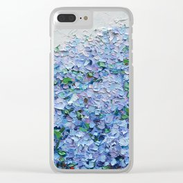 Nantucket Blues Clear iPhone Case