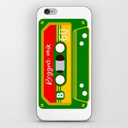 REGGAE MIX TAPE iPhone Skin