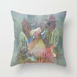 Mielikki Throw Pillow