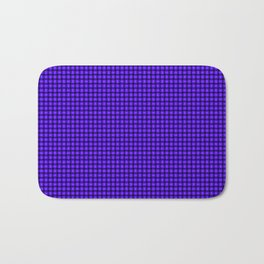 The Blue and Purple Weave Bath Mat
