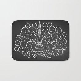 Paris Sketch Bath Mat