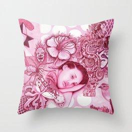 Picasso Dream Scape Throw Pillow