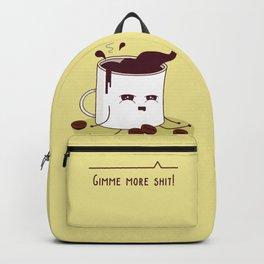 Coffee Mug Addicted To Coffee Backpack