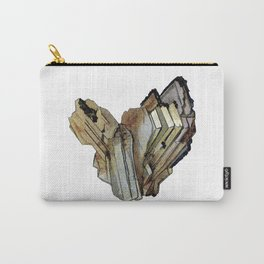Vintage Rock Crystal Carry-All Pouch