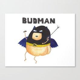 The Budman Canvas Print