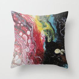 In The Volcano Throw Pillow