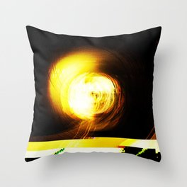 Champagne Supernova  Throw Pillow