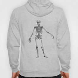 No body to dance with - skeleton Hoody