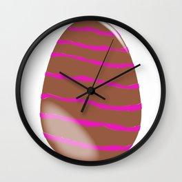 Milk Chocolate Easter Egg Wall Clock