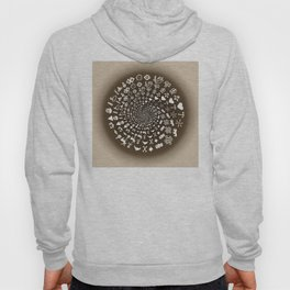 Coffee Lovers Mandala Hoody