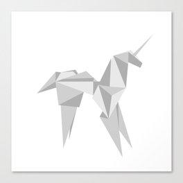 Blade Runner Origami Unicorn Canvas Print