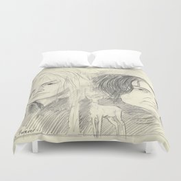 Magick Lives Forever Duvet Cover