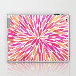 Watercolor Burst – Pink Ombré Laptop & iPad Skin