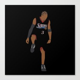 NBA Players | Allen Iverson over Lue Canvas Print