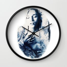 Arouse in your own pleasure Wall Clock