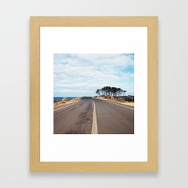 Coastal Road Framed Art Print