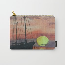 Oma's Sailing Sunset Carry-All Pouch