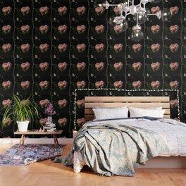 Roof's rose Wallpaper